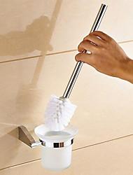 Toilet Brushes & Holders Modern  Stainless Steel