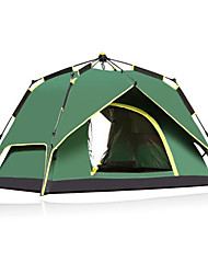 CAMEL 3-4 persons Tent Double Automatic Tent One Room Camping Tent 1500-2000 mm Ultraviolet Resistant Rain-Proof Breathability-Camping-