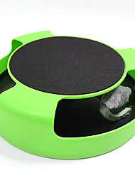 Cat Toy Dog Toy Pet Toys Interactive Teaser Plush Toy Mouse ToySqueak / Squeaking Ball Track Disk Scratch Pad Durable Halloween Mouse