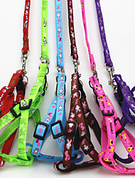 The Dog Traction Rope Harness Cat Pet Traction Belt Random Color