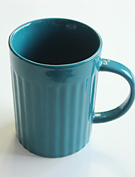 Vintage Drinkware, 380 ml Portable Ceramic Coffee Milk Coffee Mug Travel Mugs