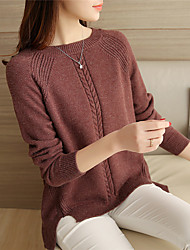 4373 # 2016 Sign raglan sleeve sweater knit sweater twist