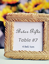 Mini Resin Photo Frame / Place Card 8 x 8 x 1.5cm Beter Gifts® Table Decoration