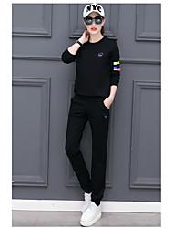 2017 новый спортивный костюм женский весной и осенью хеджирование шею свитер прилив случайных спортивной шт