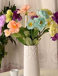 1 Ramo Plástico Plantas Flor de Mesa Flores artificiais 54