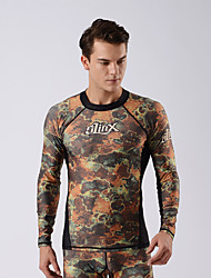 SLINX® Men's 2mm Wetsuits Dive Skins Waterproof Breathable Quick Dry Windproof Sunscreen LYCRA® Terylene Coolmax Diving Suit Long Sleeve