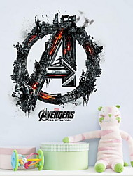 The Avengers Wall Sticker Vinyl Material Home Decoration