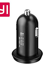 Yi 5V 3.4A Dual USB Car Charger - BLACK