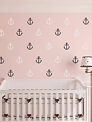 AYA DIY 30pcs Anchor Wall Stickers Wall Decals For Decoration Home Art Stickers