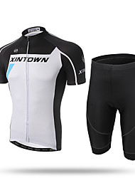 XINTOWN®Men's Short Set New Cycling Jersey Cycling set Short Sleeve Jersey Siut New Bike Bicycle Men's Team Outdoor