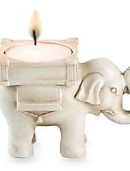 Resin Lucky Elephant Candy Holder / Place Card Holder / Candle Holder Party dcor Beter Gifts® Life Style