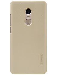 Pour Antichoc Ultrafine Dépoli Coque Coque Arrière Coque Couleur Pleine Dur Polycarbonate pour XiaomiXiaomi Redmi 4 Prime Xiaomi Redmi 4