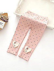 Baby Casual/Daily Solid Pants,Rayon Winter Fall Blue Pink White Gray