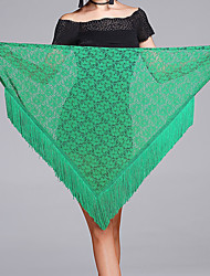 Latin Dance Hip Scarves Women's Performance Lace Lace Tassel(s) 1 Piece Hip Scarf