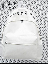Women Canvas Oxford Cloth Casual Backpack