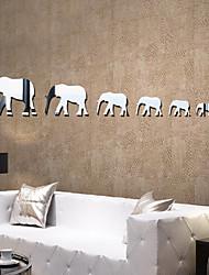 Зеркала Геометрия абстракция Наклейки Наклейки с кристаллами Зеркальные стикеры Декоративные наклейки на стены,Винил материалУкрашение