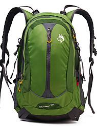 30 L Заплечный рюкзак Отдыхитуризм Восхождение ПутешествияВодонепроницаемый Дожденепроницаемый Водонепроницаемая застежка-молния Защита