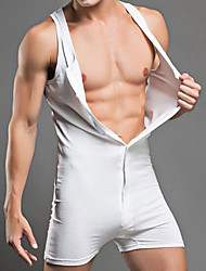 Men shapers cotton Man Body Shaper Bodysuit