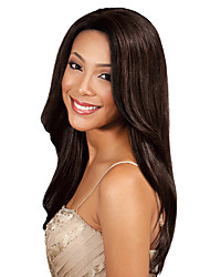 1PC TRES JOLIE Remy Yaki 10-20Inch Color #4 Medium Brown Human Hair Weaves