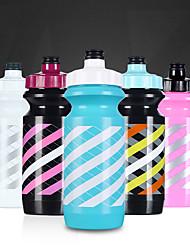 Copos esportes, 600 ml frasco plástico ciclagem de água à prova de vazamentos