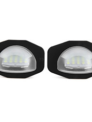 2 X  LED License Plate Light Lamp for Toyota Corolla Alphard Auris Scion Sienna