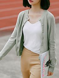 Thin knit cardigan