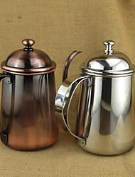 650 мл Нержавеющая сталь Чайник для кофе , 5 чашек Сварить кофе производитель Многоразового использования