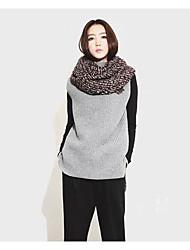 Корейский институт культивирования с высоким воротником раскол свитер без рукавов с обеих сторон носить женский свитер хеджирования шерсти