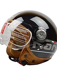 BEON B-110 Motorcycle Half Helmet Harley Helmet ABS Anti-Fog Anti-UV Security Helmet Unisex Fashion