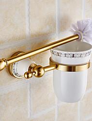 Brosses de toilette et supports Néoclassique Autres Aluminium