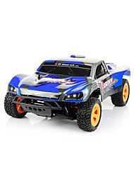 HUANQI 741 2.4GHz 1  10 4WD 4CH 40KM/H Electric RC Truck Black Blue