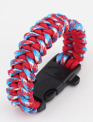 Survival Bracelet Hiking Camping Travel Outdoor Multi Function Nylon pcs