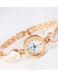 Mulheres Relógio de Moda Quartzo Lega Banda Legal Casual Ouro Rose