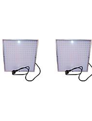 25w LED-Leuchten 289 smd 3528 1850-2165 lm rot blau ac85-265 v 2 Stück wachsen