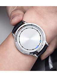 Муж. Спортивные часы Солнечная энергия / Plastic Группа Винтаж Черный
