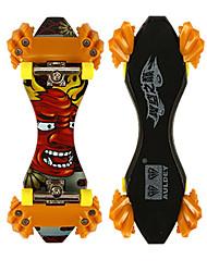 Mini Skateboards & Bikes Leisure Hobby Skate ABS Plastic Orange For Boys For Girls