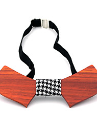 Men Party Work Casual Bow Tie,Acrylic Solid,Black Brown Beige All Seasons
