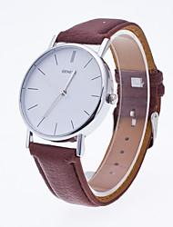 Жен. Спортивные часы Нарядные часы Модные часы Наручные часы Кварцевый Натуральная кожа Группа С подвесками Повседневная минималист