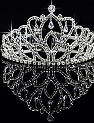 Women's Alloy Headpiece-Wedding Special Occasion Tiaras Beter Gifts® Bridal Party Supplies