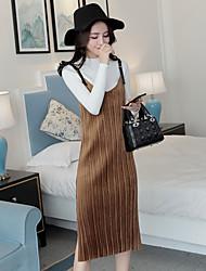 Sign skirt suit small fragrant wind Korean half turtleneck Dress velvet two-piece dress was thin temperament