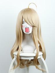 nuevo proyectil en la peluca cable roto v3 pino rojo arce amarillo micro-rollo de pelo largo a alta temperatura