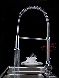 Tall/High Arc Pull-out/Pull-down Kitchen Faucet Standard Spout Centerset Rain Shower Pullout Spray Rotatable Sink Faucet