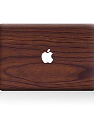 For MacBook Air 11 13/Pro13 15/Pro with Retina13 15/MacBook12 Brown Wood Grain Line Decorative Skin Sticker
