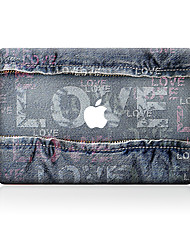 For MacBook Air 11 13/Pro13 15/Pro with Retina13 15/MacBook12 Cowboy LOVE Decorative Skin Sticker