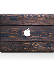 1 pieza Anti-Arañazos Fibra de Madera De Plástico Transparente Adhesivo Diseño ParaMacBook Pro 15'' with Retina MacBook Pro 15 '' MacBook