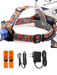 U'King Headlamps 2000 Lumens 3 Mode Cree XM-L T6 Yes Adjustable Focus High Power Multifunction Compact Size Easy Carrying for