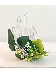"""Fleurs de mariage Noué à la main Petit bouquet de fleurs au poignet Mariage La Fête / soirée Fleur séchée 7.09""""(Env.18cm)"""