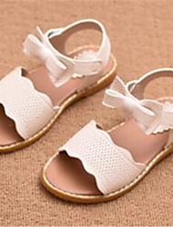сандалии комфорт кожзам на открытом воздухе случайные синий розовый белый пробег