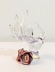 Свадебные цветы Круглый Букетик на запястье Свадьба Партия / Вечерняя Атлас Металл Около 19 см