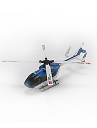 XK Hélicoptère RC 6Canaux 6 Axes 2.4G - Bleu Fibre de Carbone